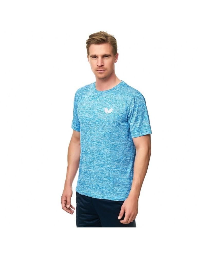 قميص مباريات مريح بترفلاي أزرق سماوي