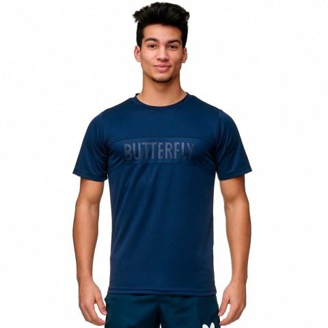 قميص مباريات مريح بترفلاي أزرق