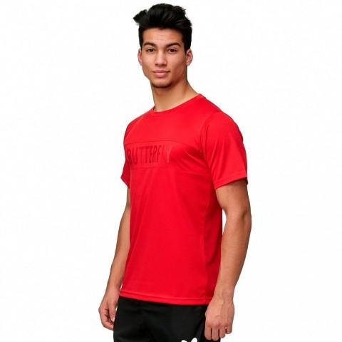 قميص مباريات مريح بترفلاي أحمر