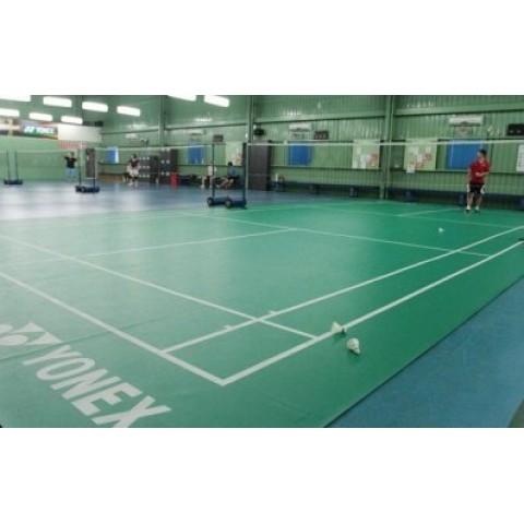 أرضية ملعب تنس ريشة يونكس معتمدة من BWF
