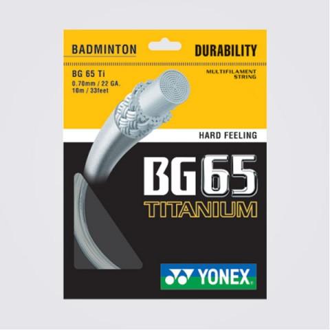 خيط تنس ريشة يونكس BG65 TITANIUM