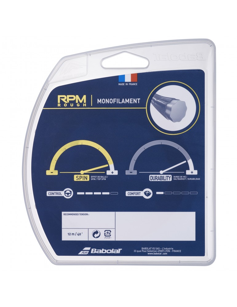خيط تنس Babolat RPM Rough 125