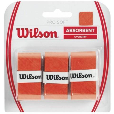 شريط مقبض المضرب Wilson Soft Overgrip 3 Pack