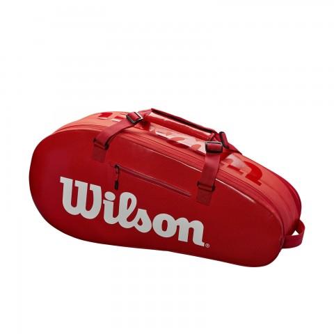 حقيبة تنس Wilson Super Tour 2 Compartment 6Pk