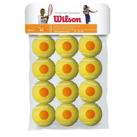 كور تنس Wilson Starter Game 12 ball pack