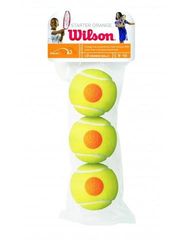 كور تنس Wilson Starter Game 3 ball pack
