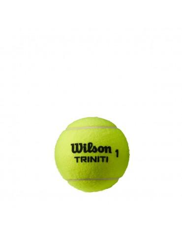 كور تنس Wilson TRINITI - 3 Ball Can