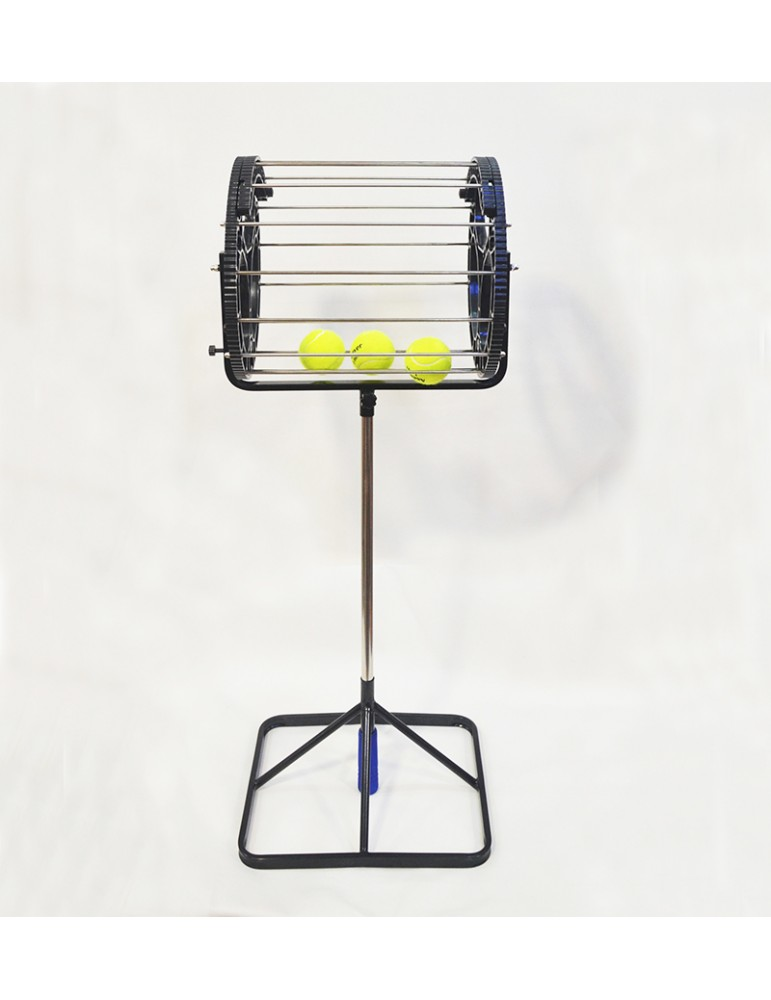عجلة شبكية لالتقاط كور التنس