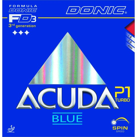 جلدة مضرب دونيك Acuda P1 Turbo BLUE