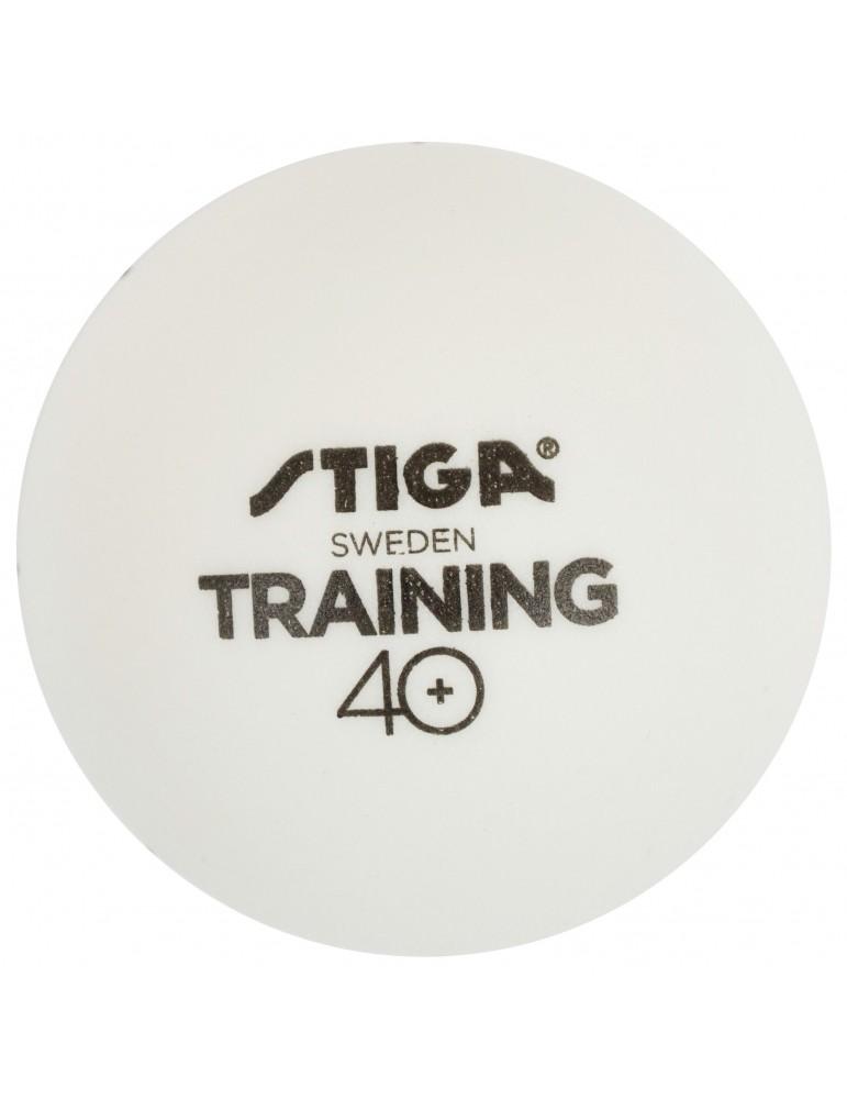 كور تدريب ستيقا 6 حبات 40+ أبيض
