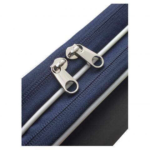 حقيبة دبل لمضربين ستيقا أزرق أبيض